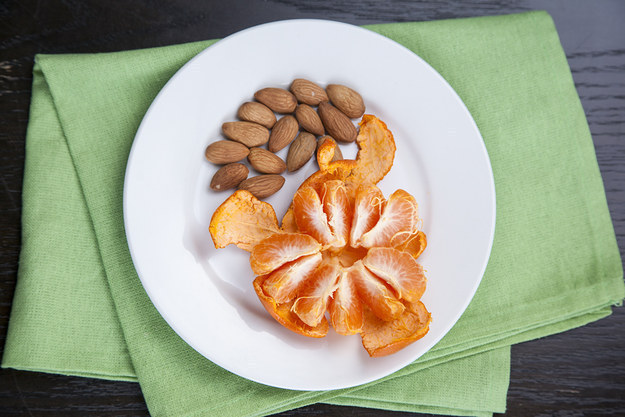 18. Almonds and Clementine