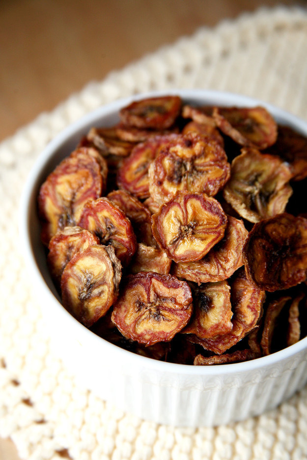27. Baked Banana Chips