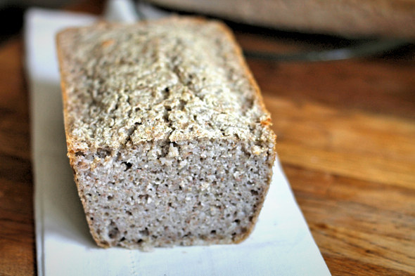 39. Gluten-Free Three-Ingredient Buckwheat Bread