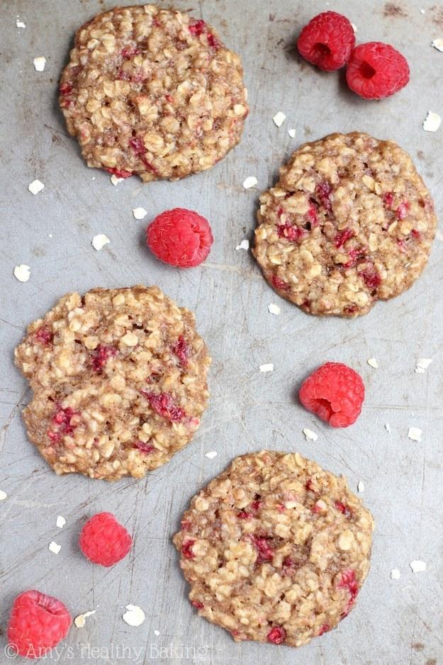 47. Raspberry Oatmeal Cookies