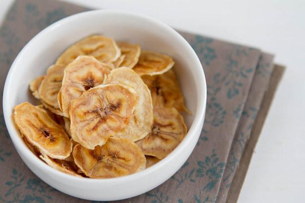 51. Baked Banana Chips