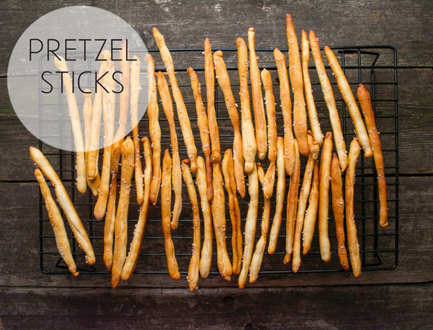 52. Pretzel Sticks
