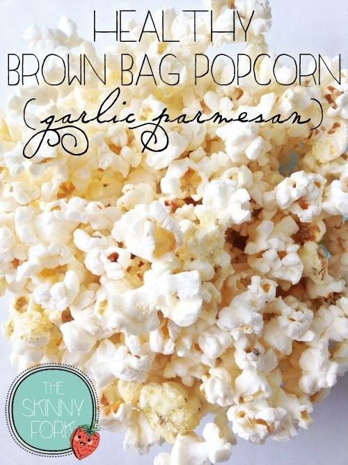 53. Garlic Parmesan Popcorn
