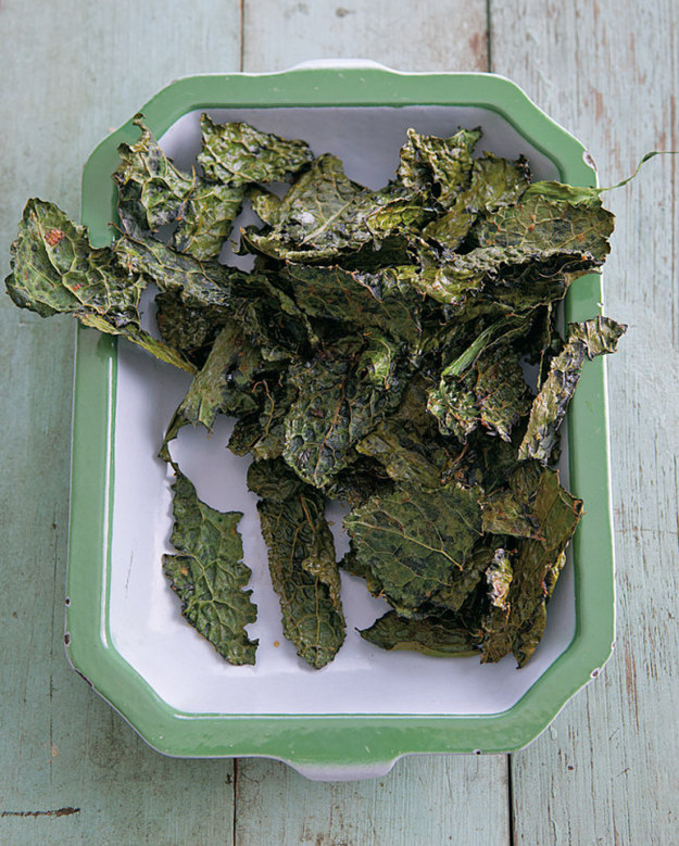 6. Kale Chips With Sea Salt and Smoked Paprika