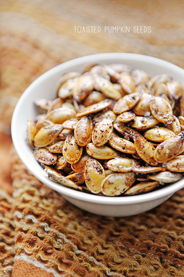 61. Toasted Pumpkin Seeds
