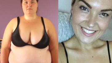 Jessica Davis aka Treadmillionaire Lost 75Kgs - Over Half Her Body Weight!