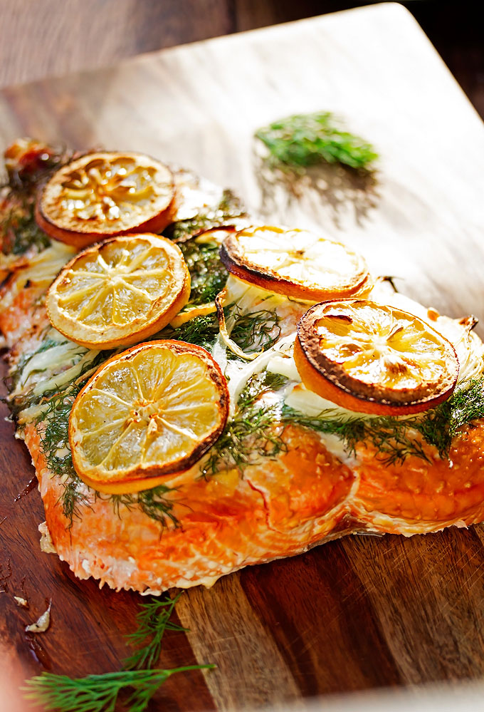 Lemon-Salmon