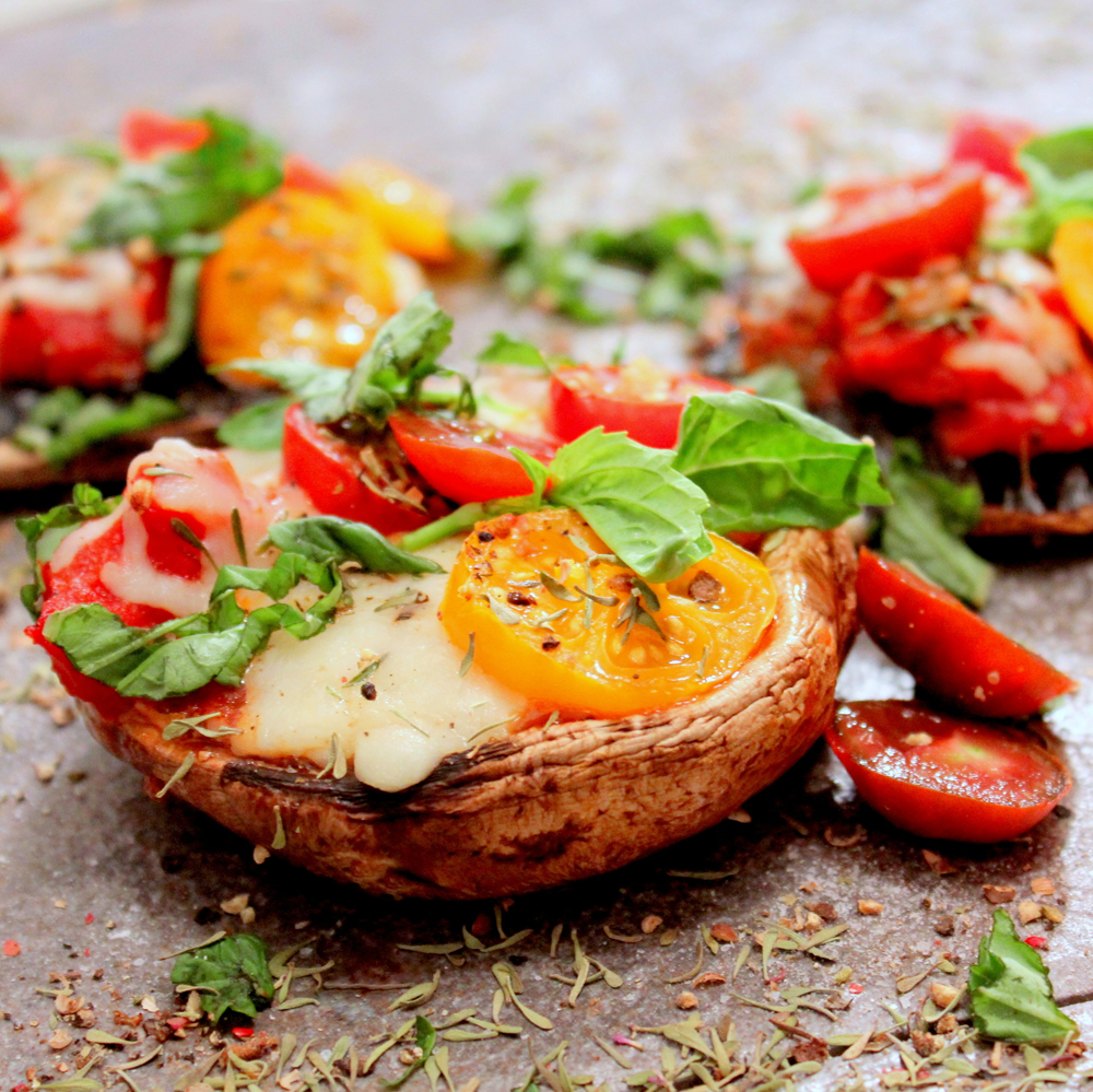 Portobello-Mushroom-Pizza