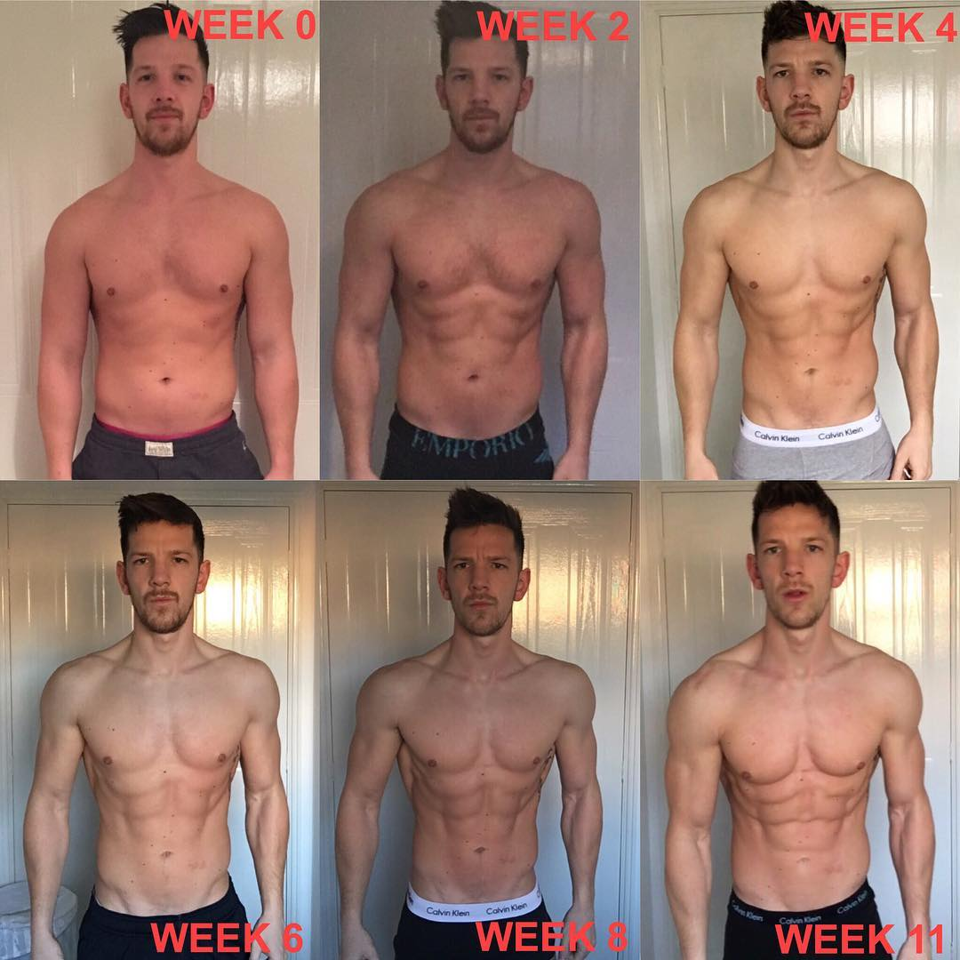 Jack Simmons' Insane 16 Week Weight Loss Transformation To