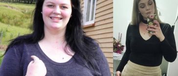 Elora The Shriking Violet Lost Over 125lbs/55KG Using A Paleo Style Diet!