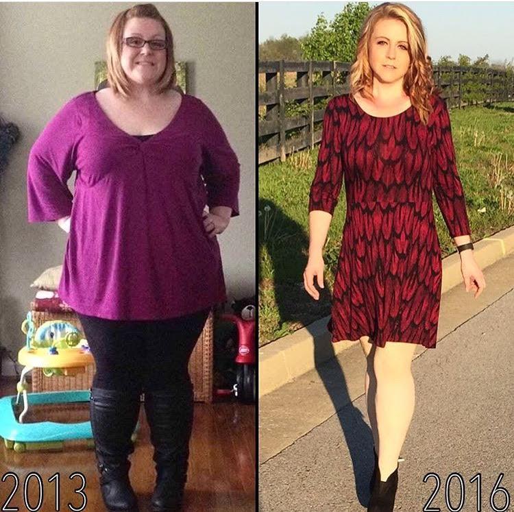 Расскажите истории похудения