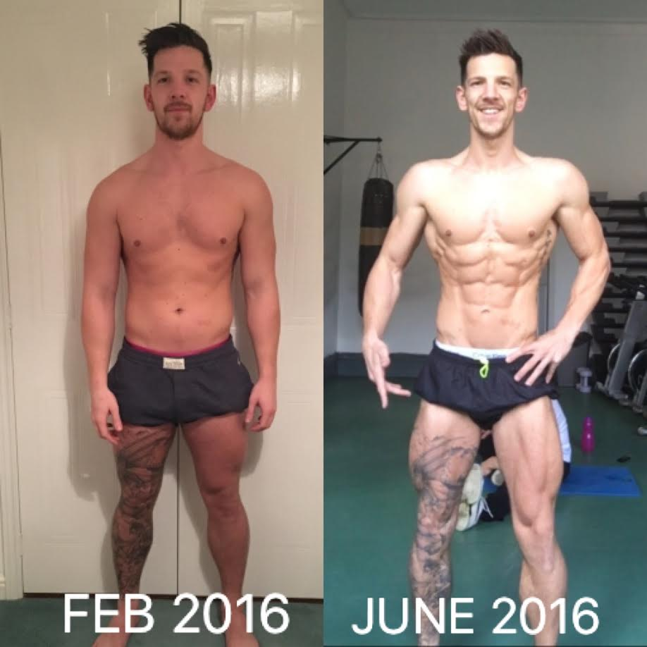 16 week training and diet