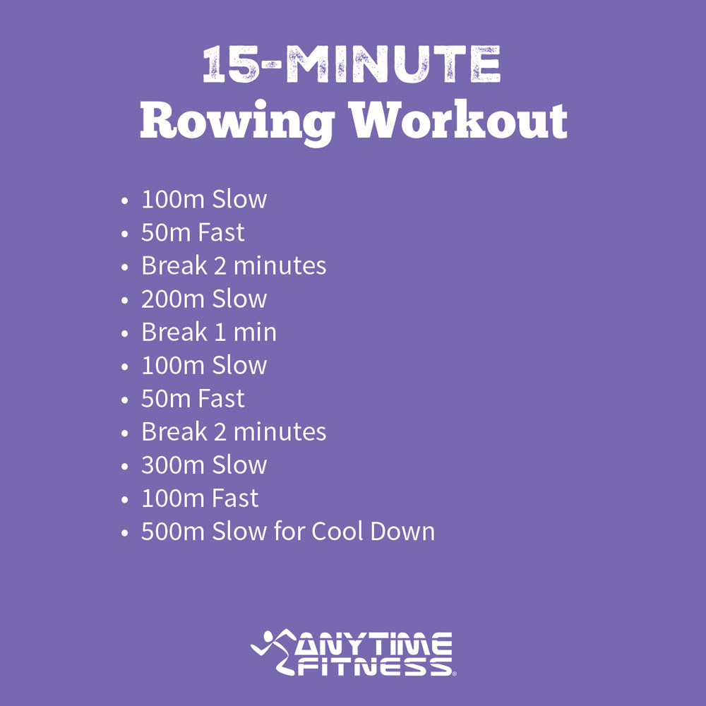 rowing machine workouts weight loss