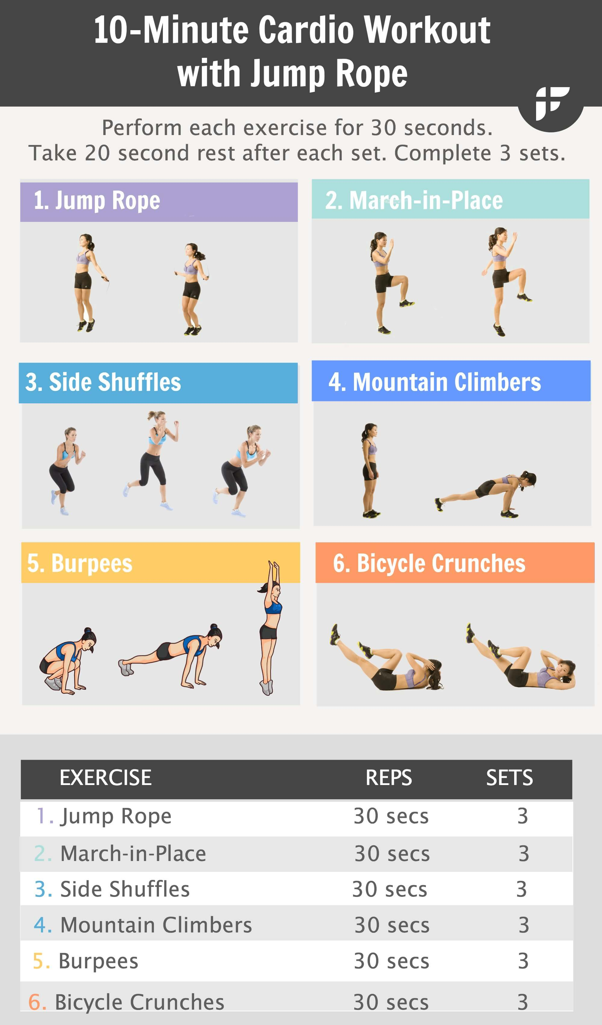 25 HIIT Cardio Workouts That Will Get You In The Best ...