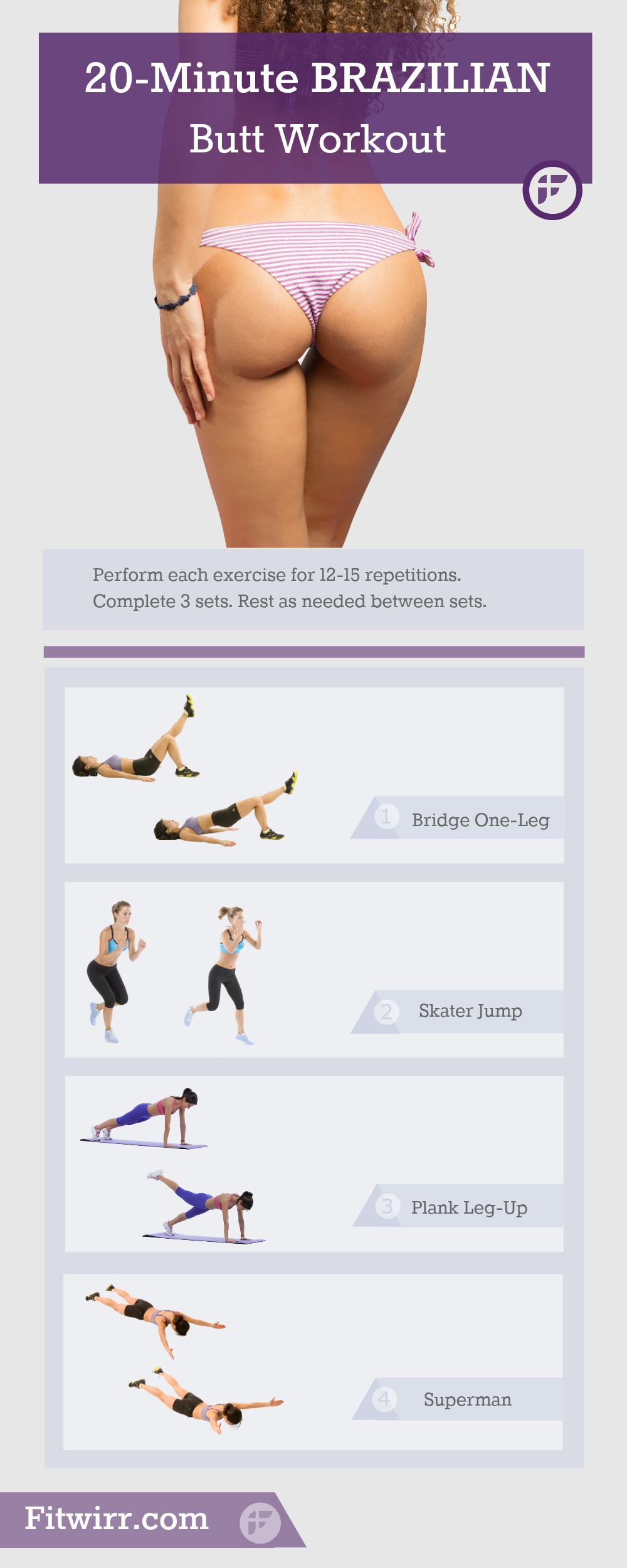 50 Intense Booty Workouts That Will Give You A Bigger