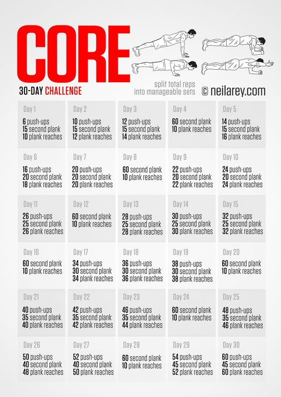 30 day intense diet challenge