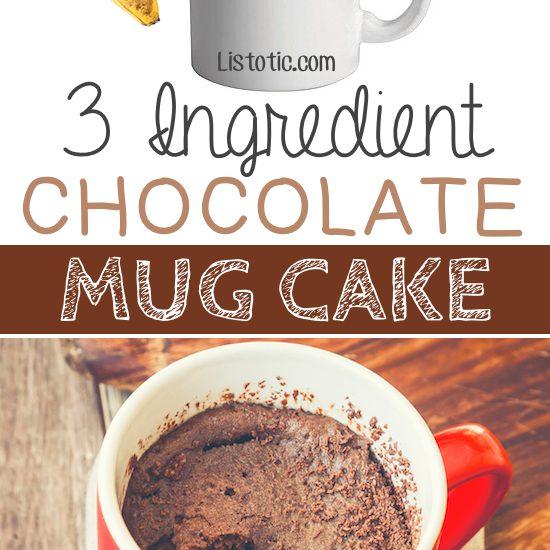 Calorie Chocolate Mug Cake