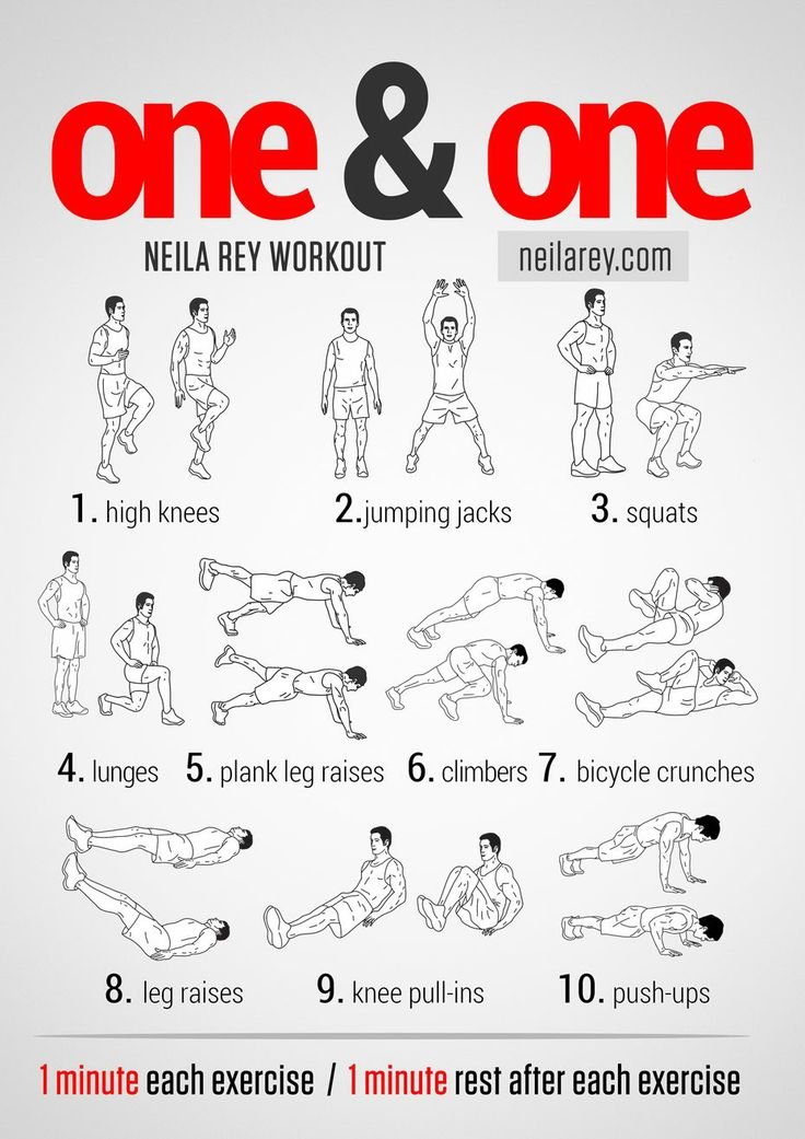 No Excuses Full Body Workout 7622824e64f398d0b05f07c74b8d9369
