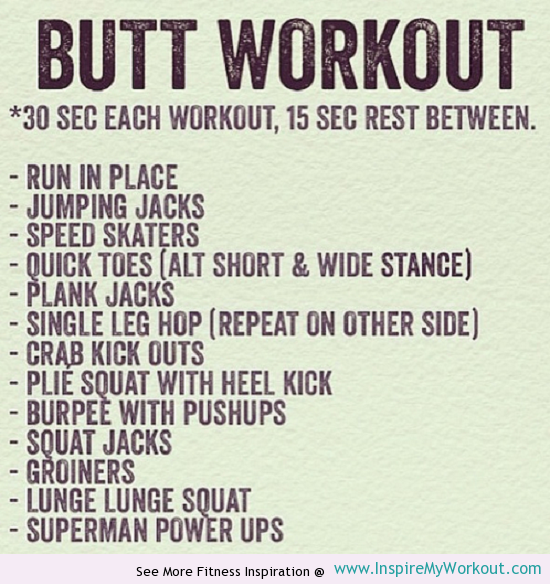 Intense booty workouts that will give you a bigger