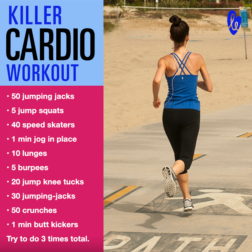 Cardio Strength Workout: 25 HIIT Cardio Workouts That Will Get You In The Best