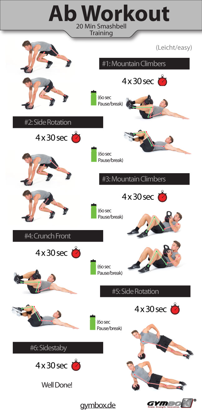24 Insane Ab Workouts That Will Give You A Flatter Belly ...