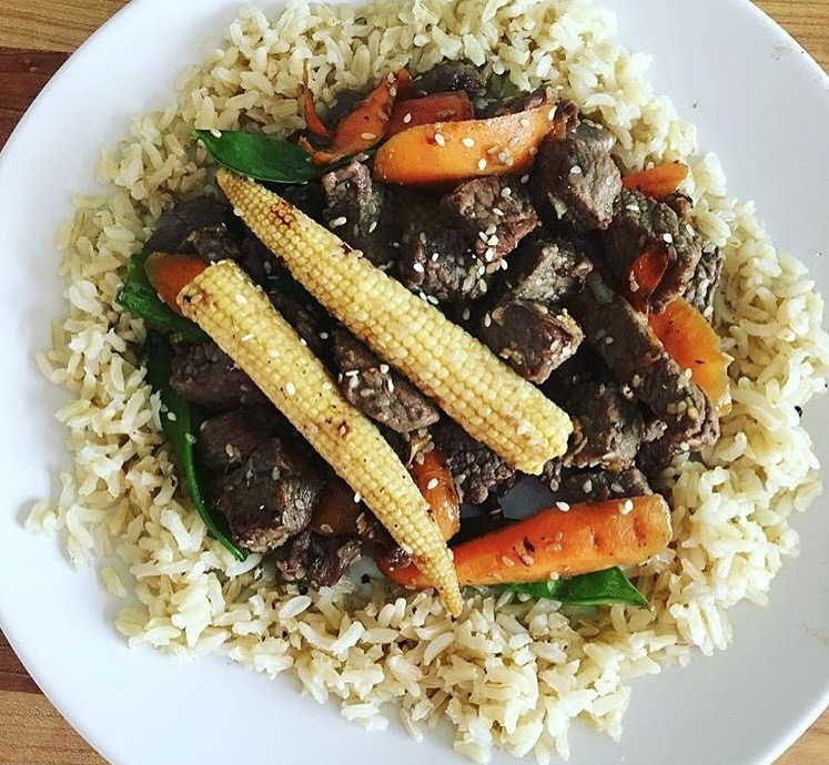 beef-sesame-vegetable-stir-fry