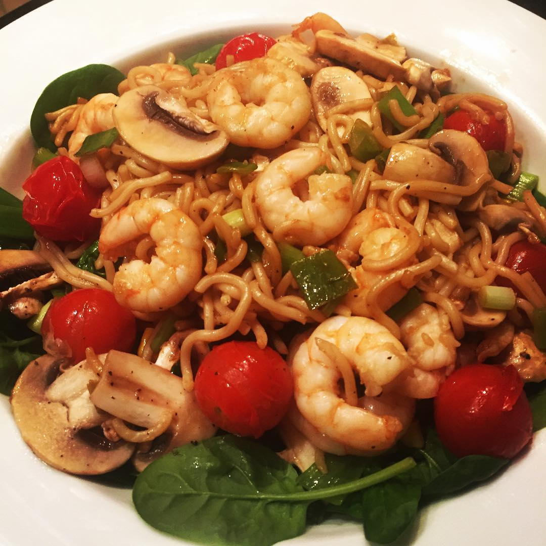 soy-prawn-and-vegetable-stir-fry