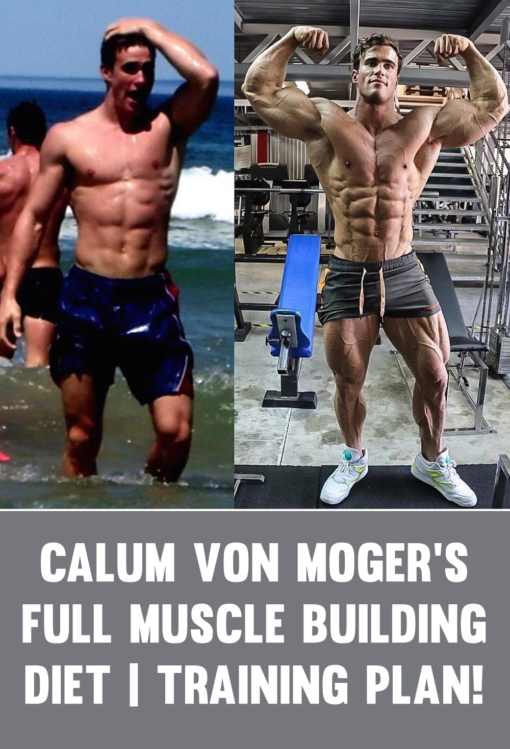 Calum Von Moger Weight Gain