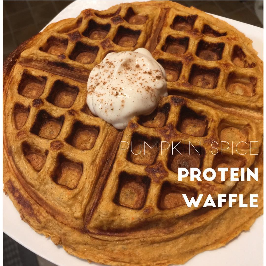 pumpkin-spice-waffle