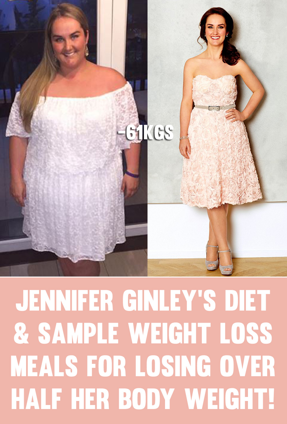 Jennifer Ginley 39 S Diet Weight Loss Meals For Losing Half