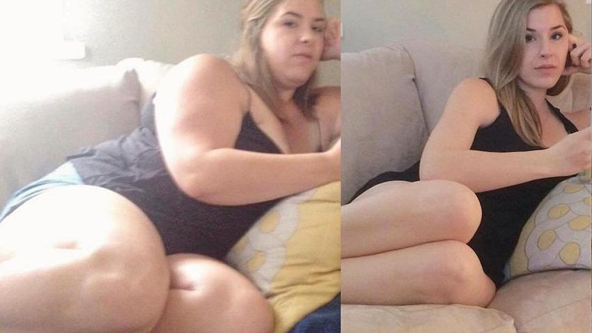 Pierdere în greutate de 100lb în 6 luni
