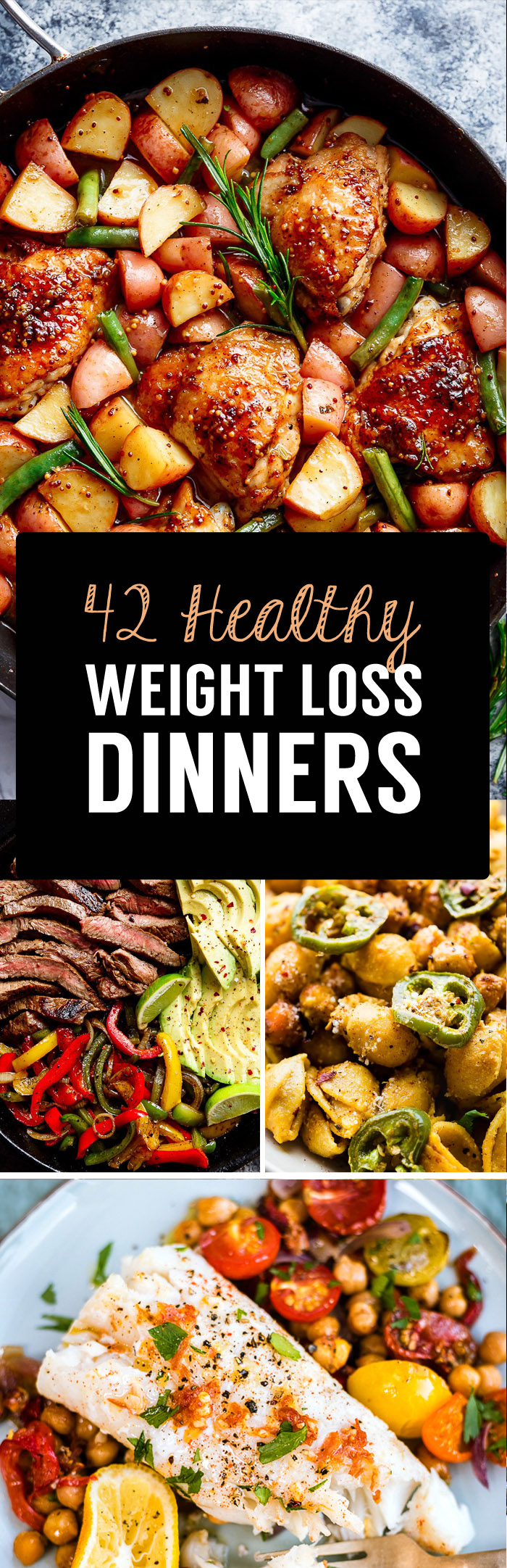 healthy dinners for weight loss recipes
