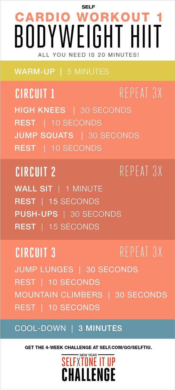 52 Intense Home Workouts To Lose Weight Fast With Absolutely No Equipment Trimmedandtoned