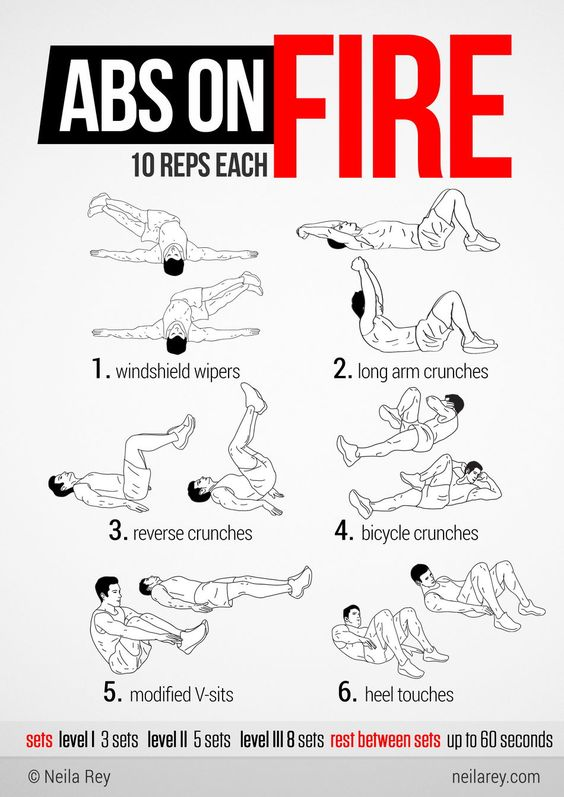 DareBee Abs On Fire Workout
