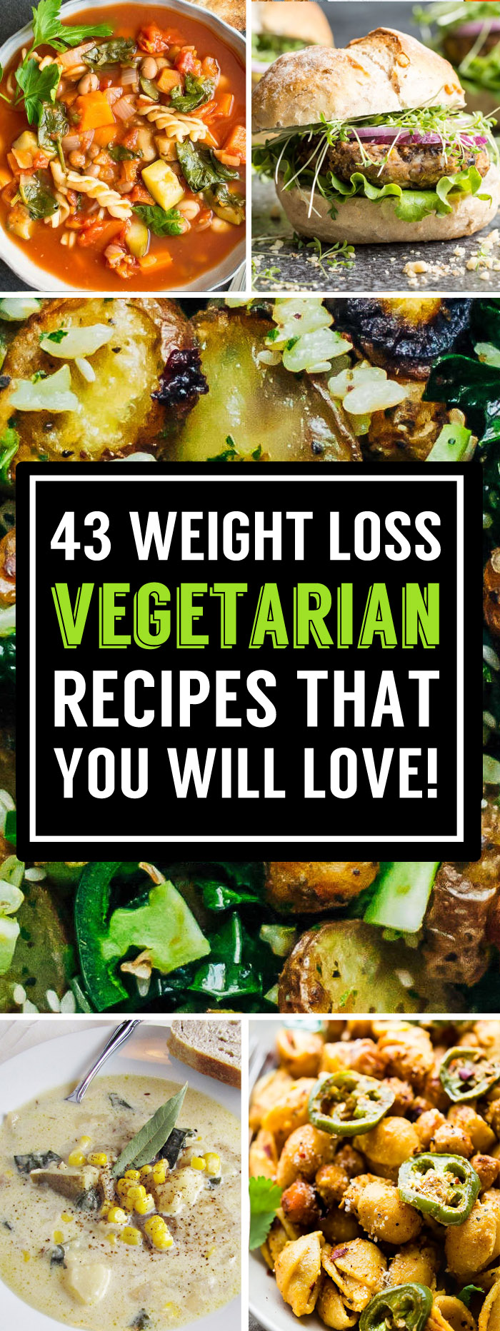 43 Delicious Vegetarian Recipes That Can Help Boost Your ...