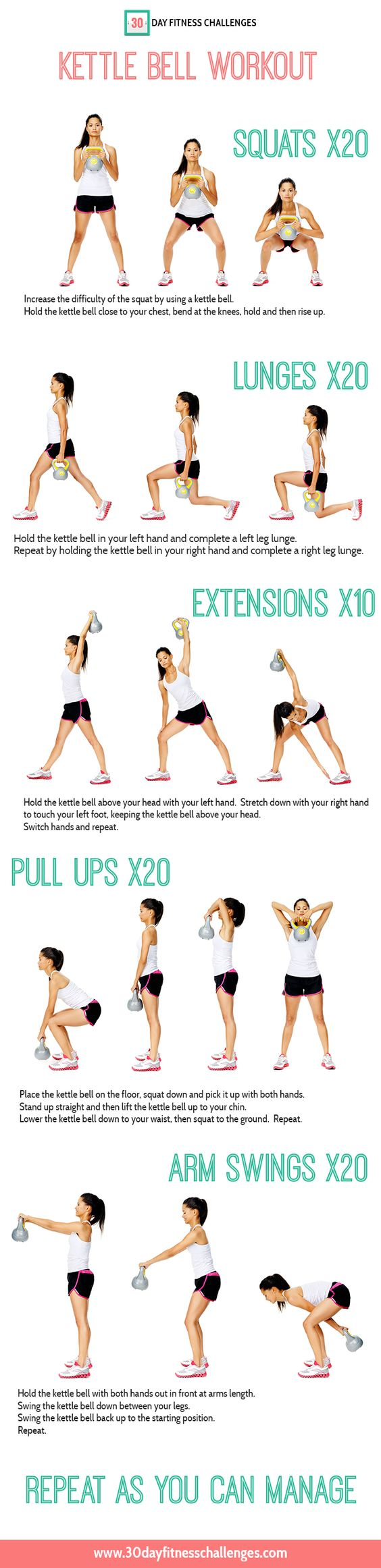 Kettle Bell Abs Laura London Fitness