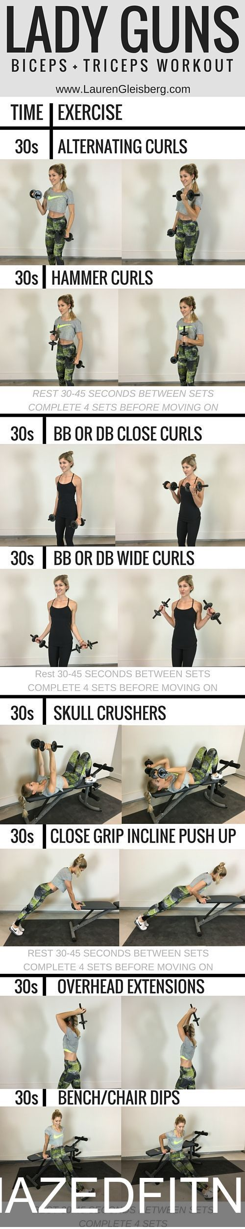23 Fat Burning Bikini Arm Workouts That Will Shape Your Arms