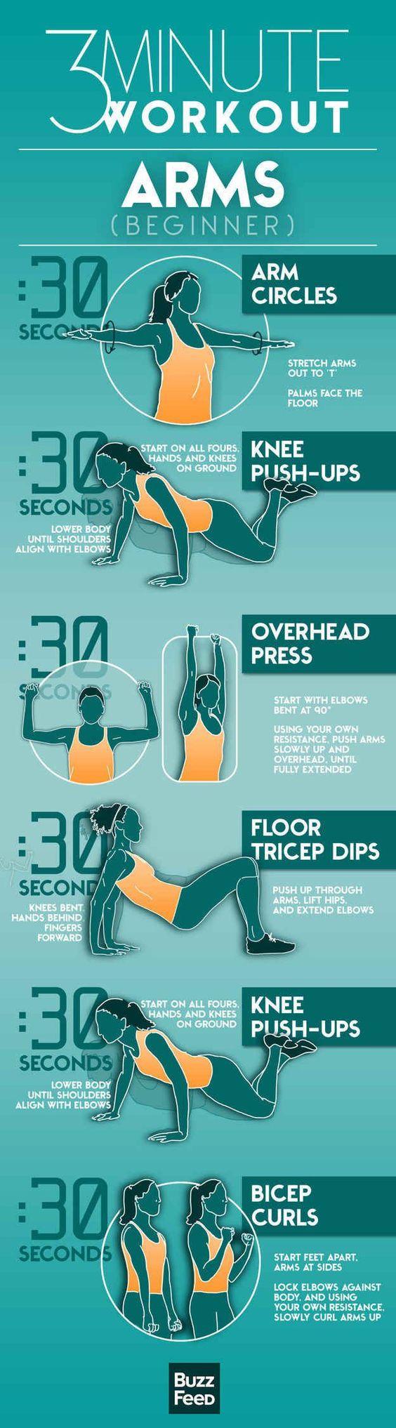 23 Fat Burning Bikini Arm Workouts That Will Shape Your ...