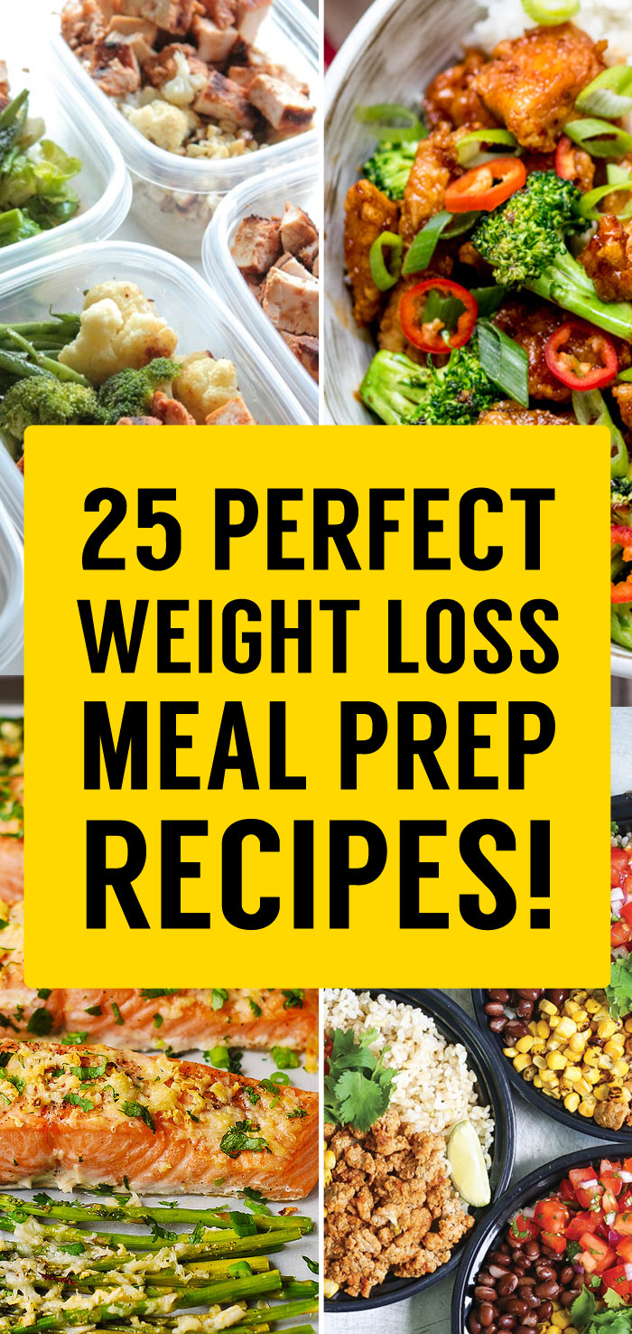25 Best Meal Prep Recipes That Will Set You Up For Weight Loss