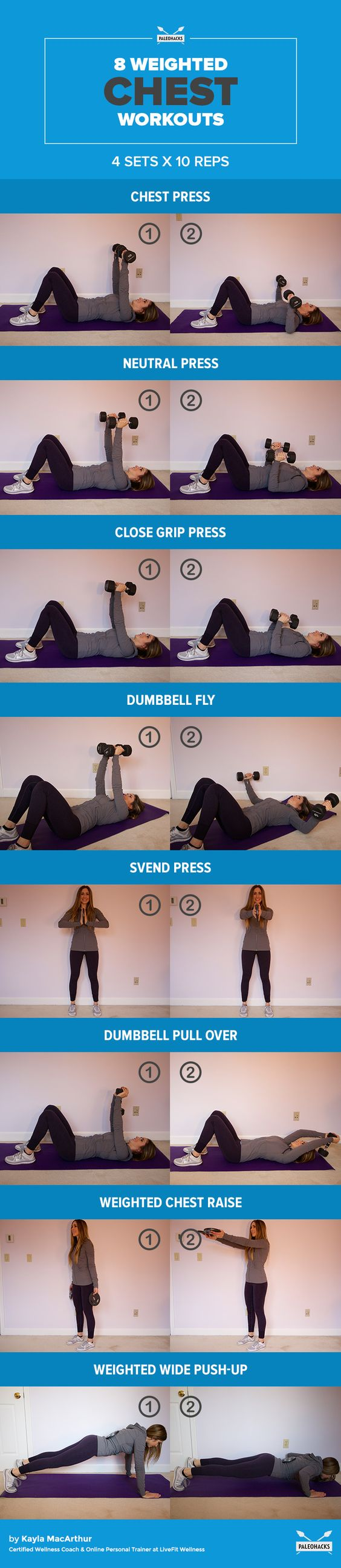 Back Chest Workout Firm Toned At Home Summer Sequence