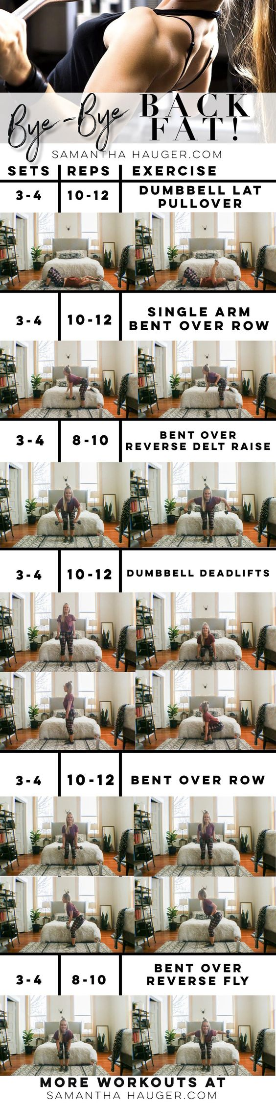 18 Fat Burning Back Workouts That Will Sculpt And Define Your Back ...