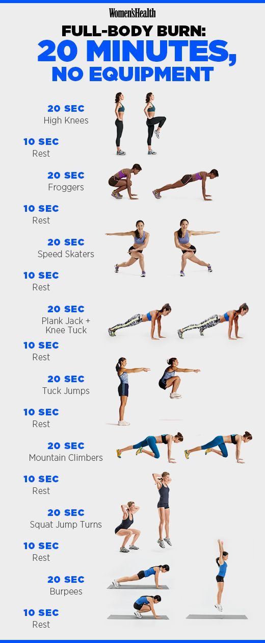 19 Intense 20 Minute Workouts That Will Destroy Your Body ...
