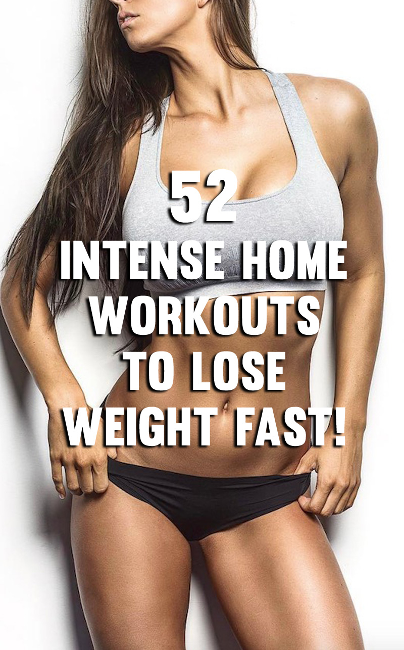 intense fitness regime to lose weight