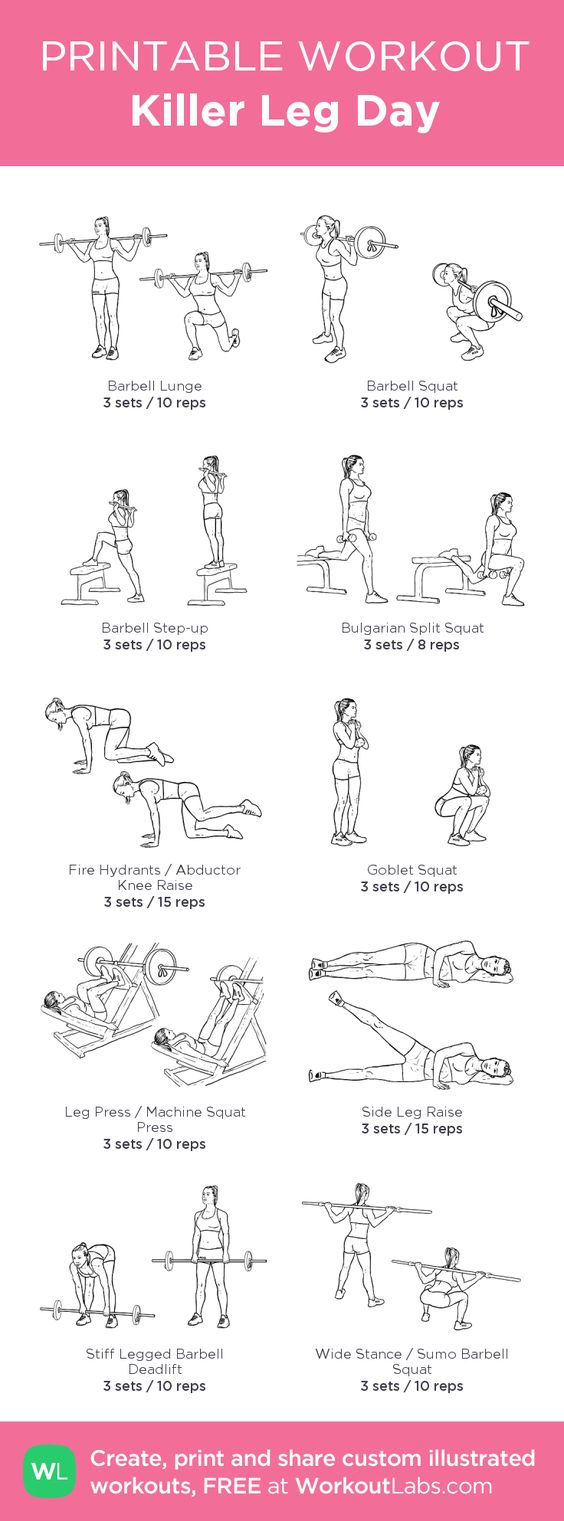 Leg workouts that will shape your lower body perfectly