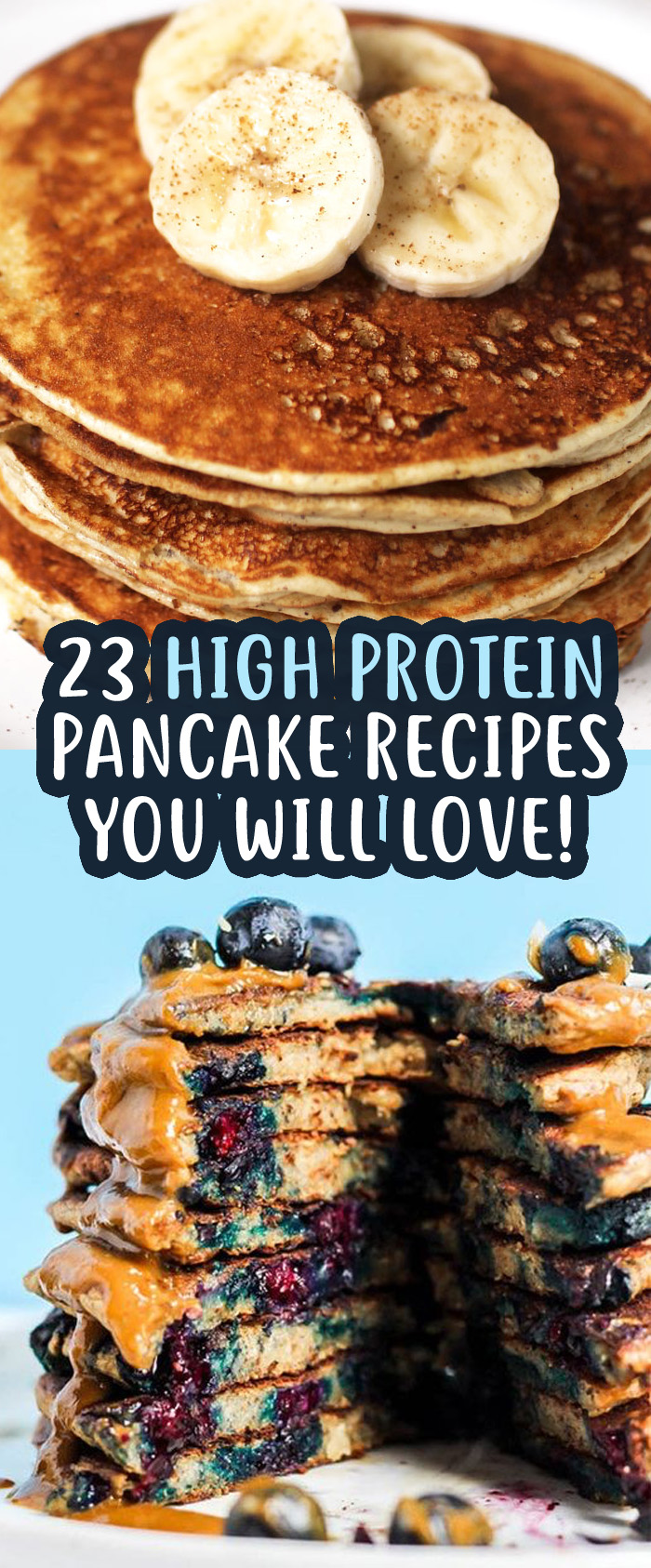23 Super High Protein Pancake Recipes To Start Your Weight
