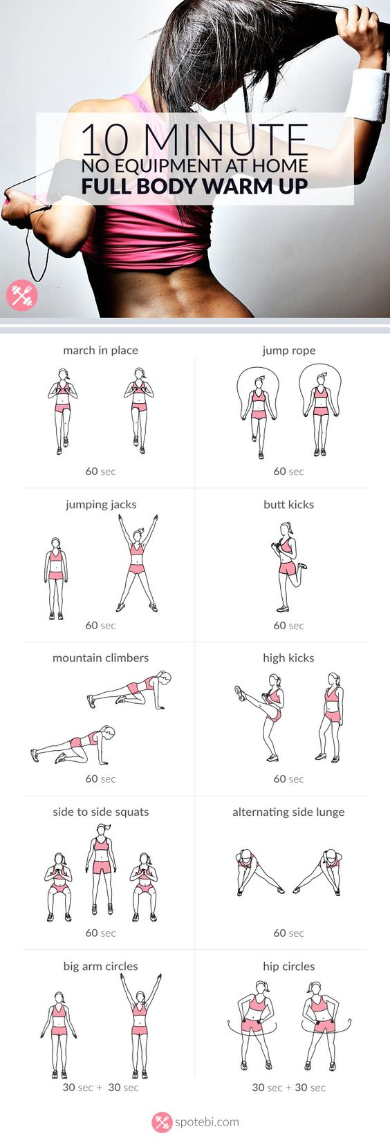 23 Beginner Fat Loss Workouts That You Can Do At Home Easily! -  TrimmedandToned