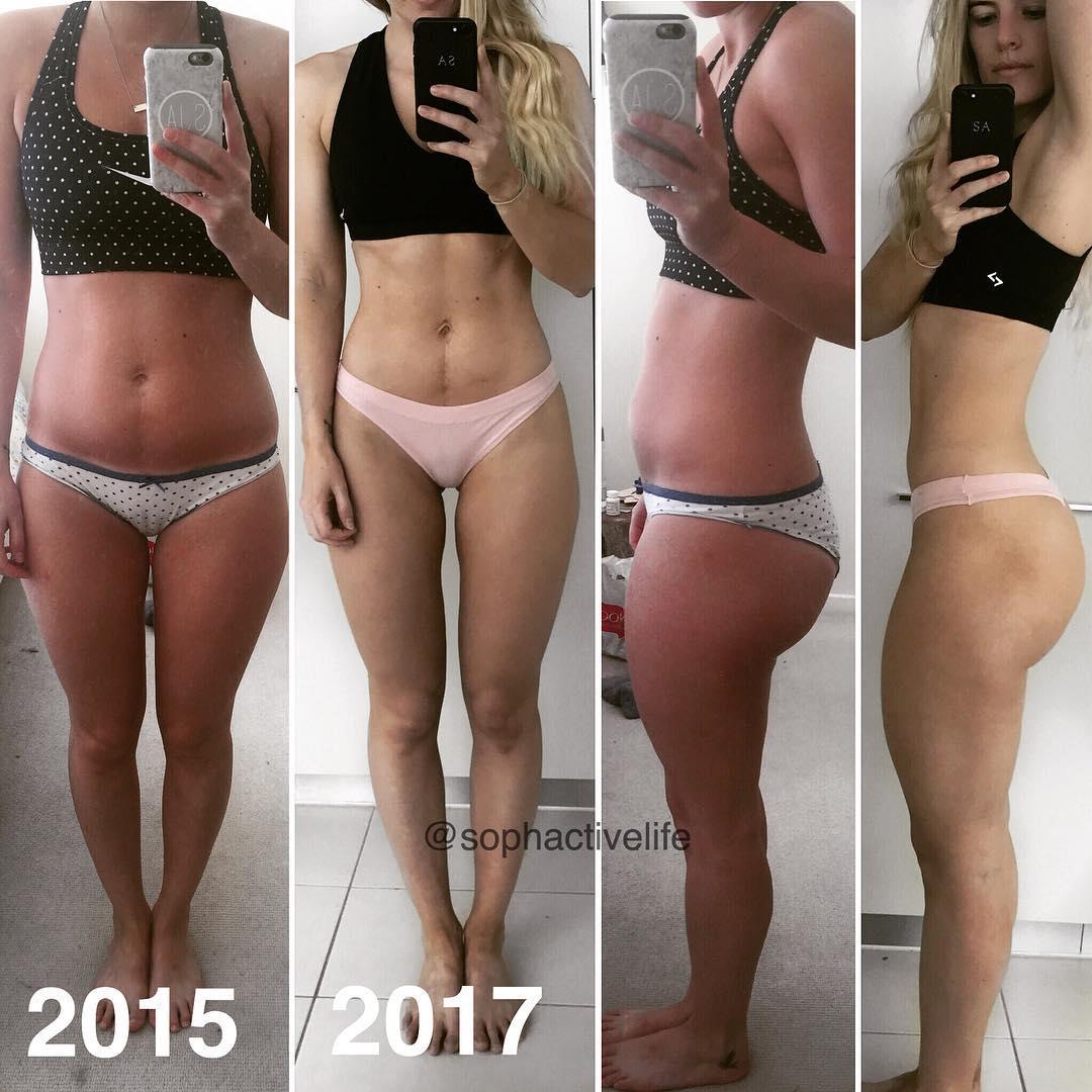 Sophie Allen Reveals Her Transformation Diet, Training ...