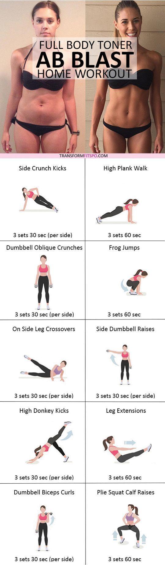 Full Body Toner – Ab Blast Home Workout