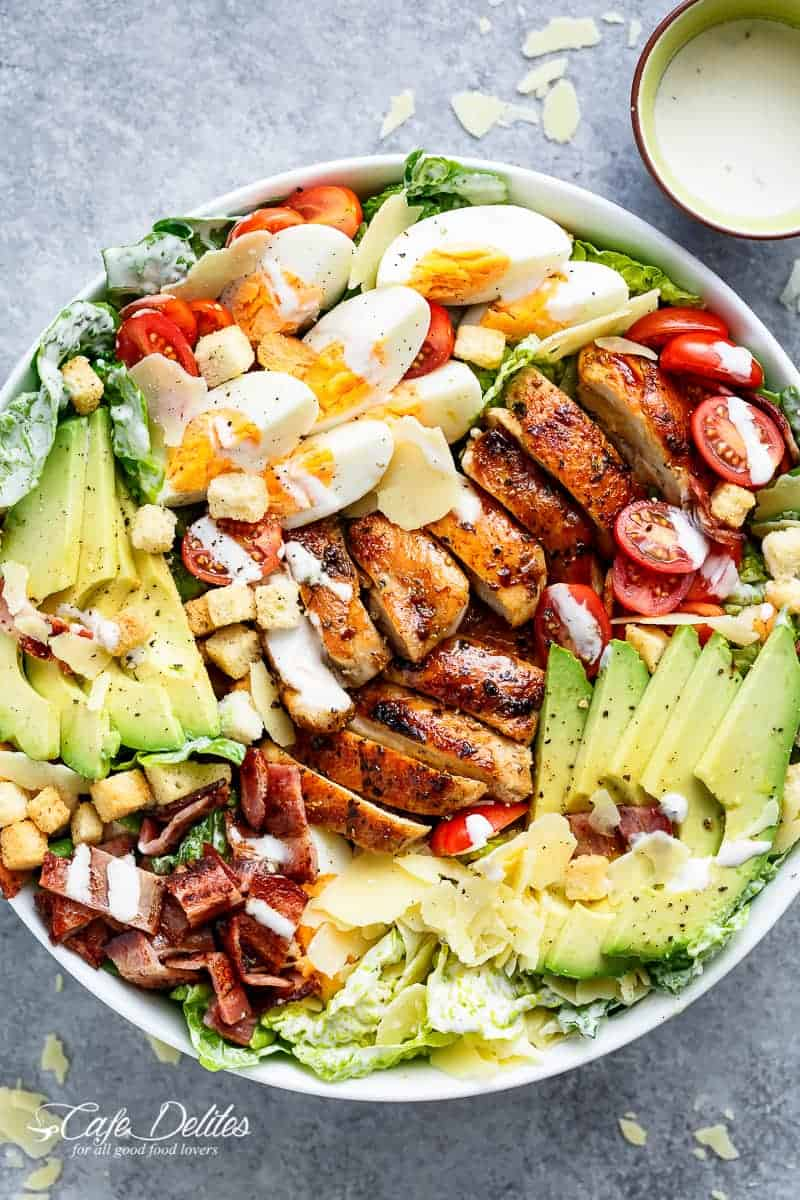 Fast and tasty salads on the shoulder for everyone