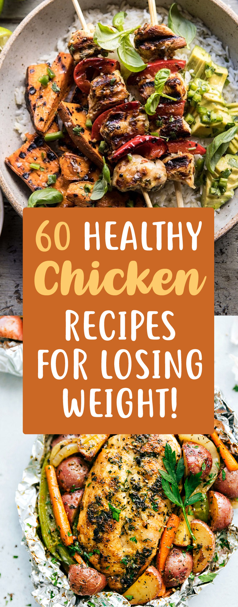60 Insanely Delicious Chicken Recipes That Can Help You Lose Weight Trimmedandtoned